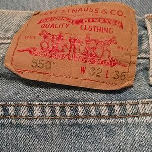 Vintage Levi's 550 jeans 32 x 36